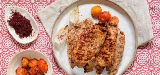 חזה עוף בתבלין סומאק